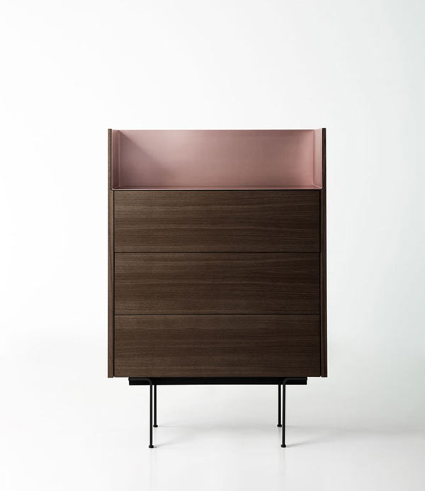 Sideboards Berlin stockholm sideboards that combine wood and aluminum design