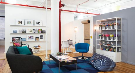 A Fun NYC Office Inspired by the Flatiron District