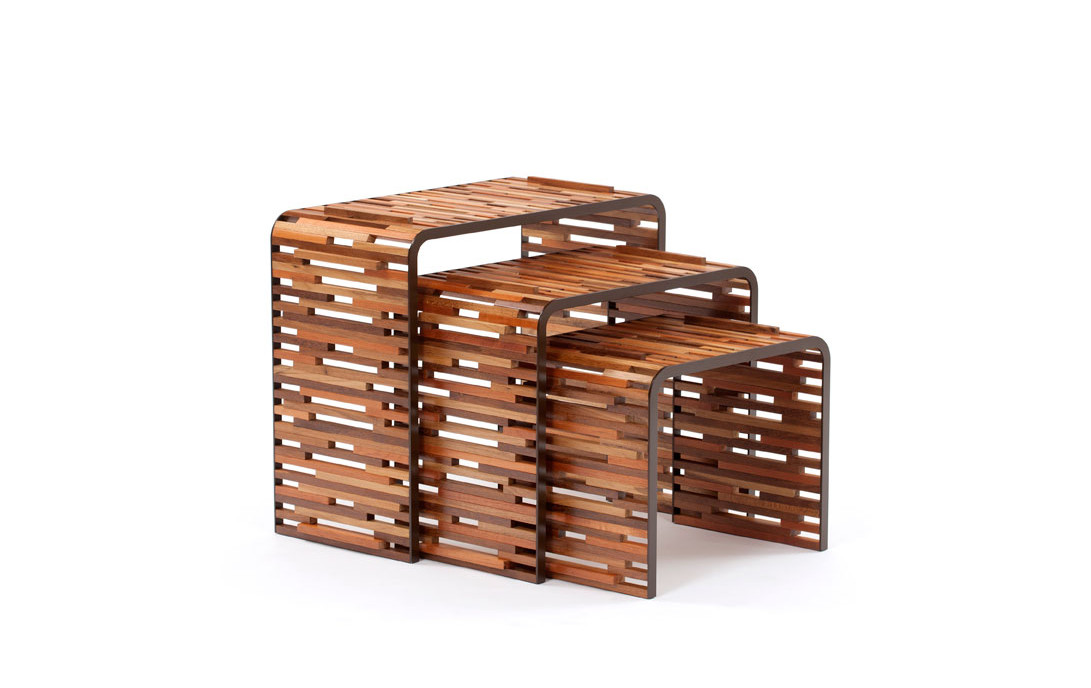brazilian tables made from scraps of wood brazilian wood furniture