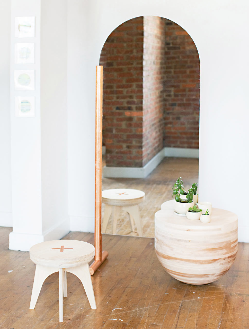 The Wabi-Sabi Mirror&Table by Eny Lee Parker