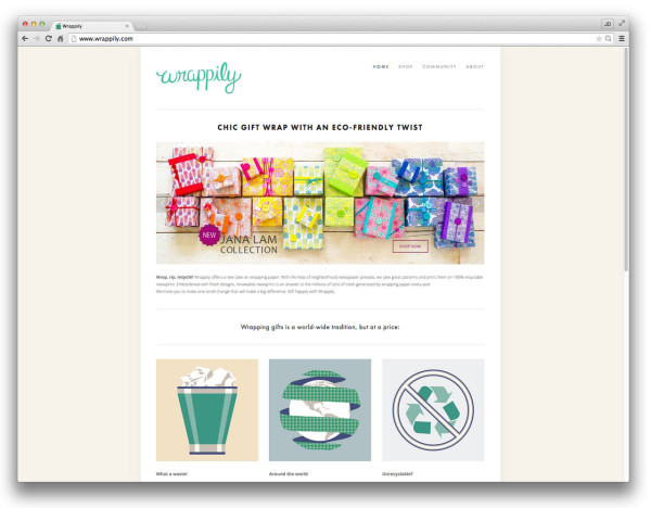 Wrappily_squarespace-commerce-website