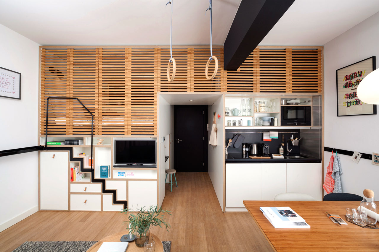 An Apartment-Like Hotel Room for the Traveling Professional