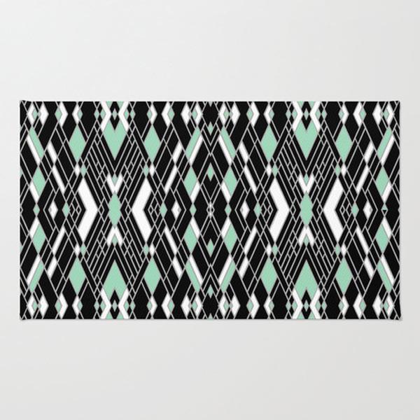 Art deco rug design