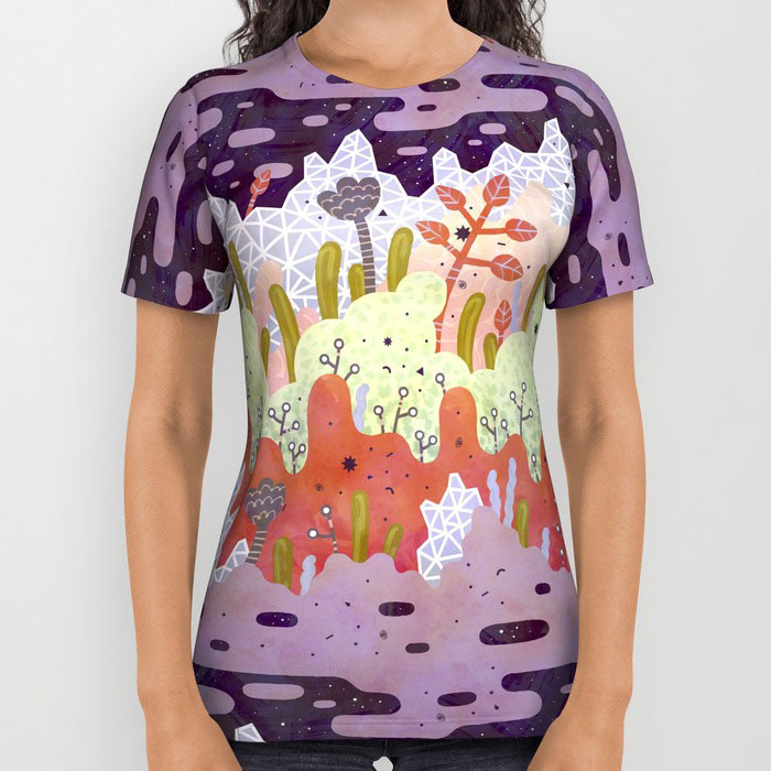 Society6 Introduces All Over Print Tees