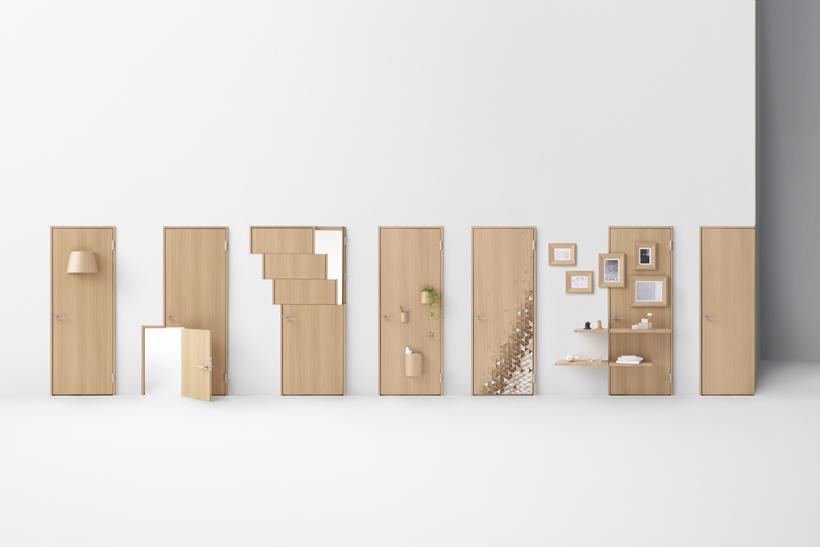 Seven Doors by nendo for Abe Kogyo ... & Seven Doors by nendo for Abe Kogyo - Design Milk