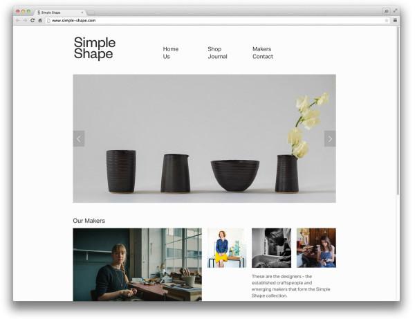 10 Well-Designed Squarespace Commerce Websites - Décoration de la maison