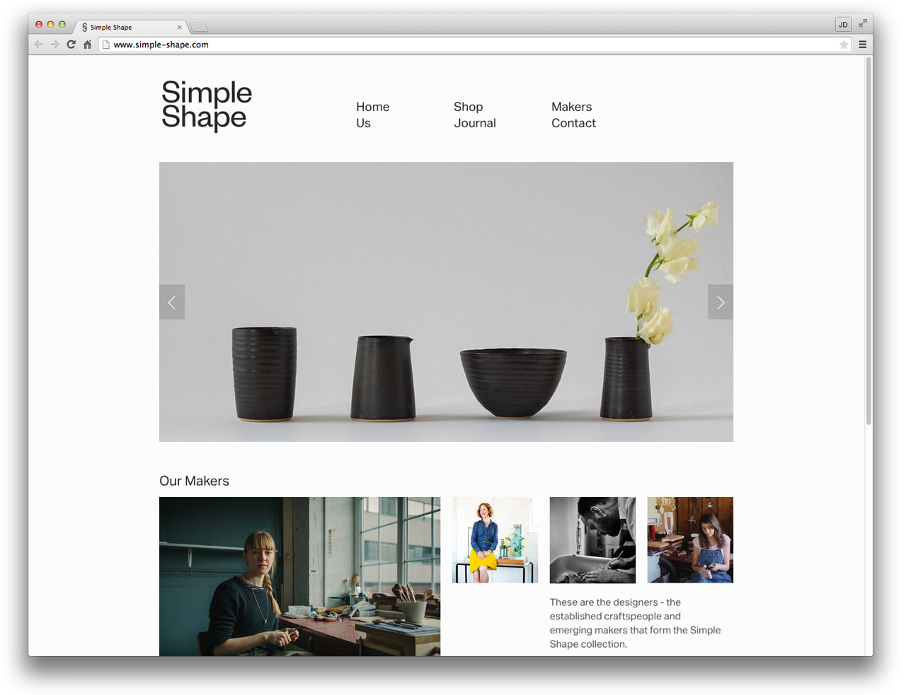 10 well designed squarespace commerce sites design milk for Home design website free