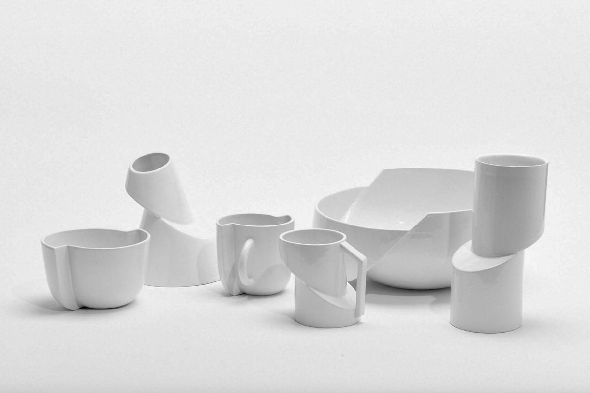 Minimalist Ceramics Focused On Deconstruction Design Milk