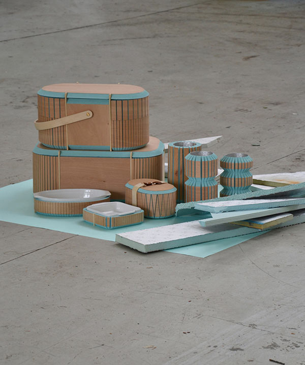 Storage containers made of recycled materials design milk for Designers that use recycled materials