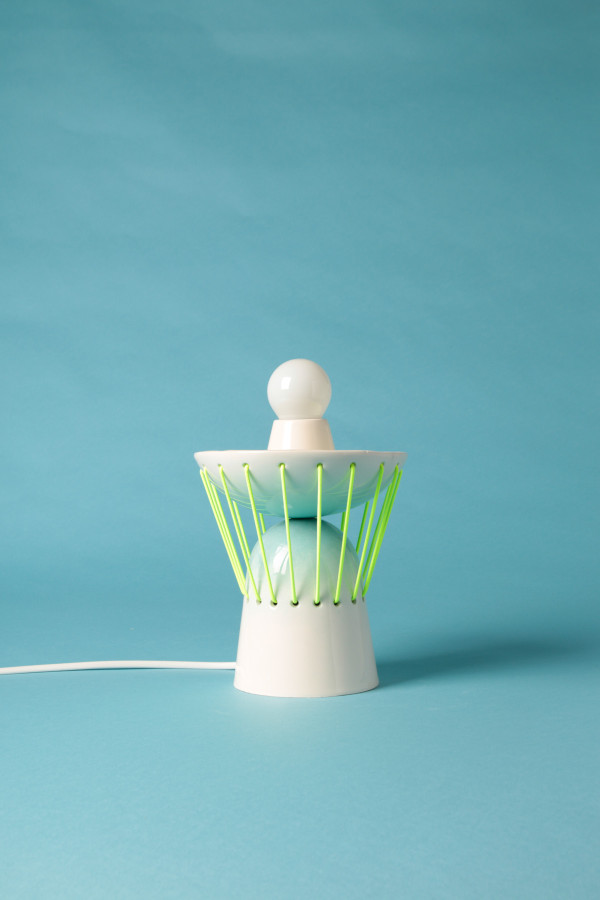 Playful Ceramic Lights by Marta Bordes