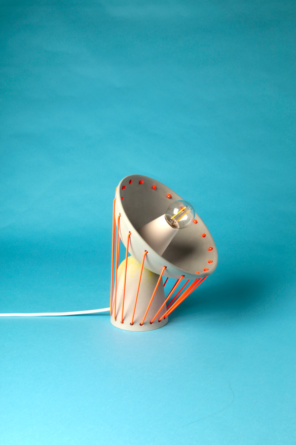Elastic Ceramic Lights by Marta Bordes