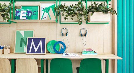 Masquespacio Redesigns & Rebrands an English School in Barcelona