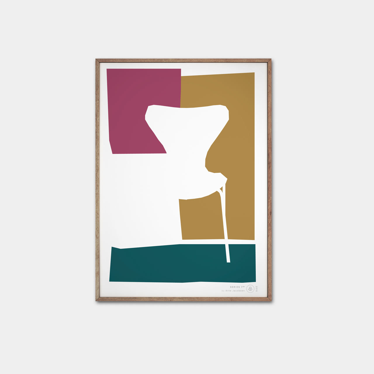 Posters Celebrating 7 Decades of Arne Jacobsen's Series 7 Chair