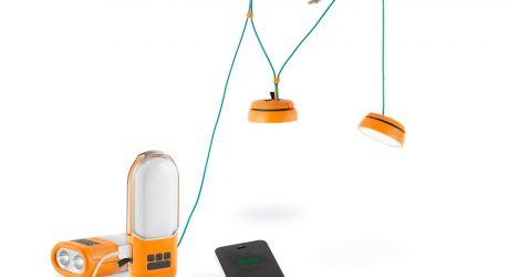 BioLite's NanoGrid Provides Outdoor Lighting & Power Storage