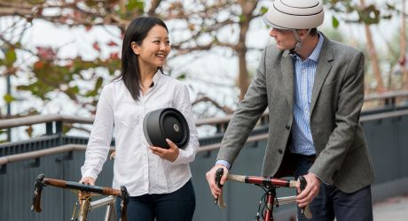 Closca Fuga: A Foldable, Fashionable Bike Helmet