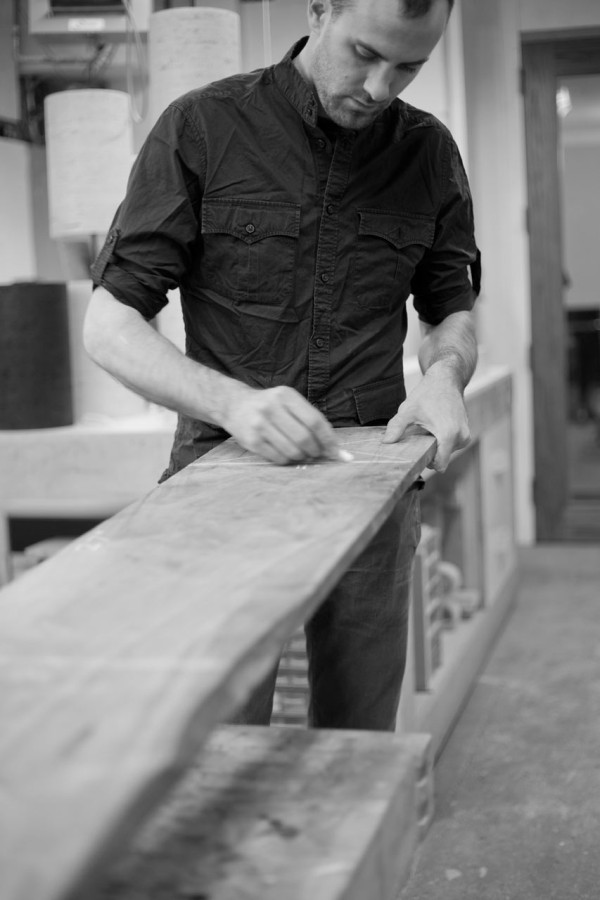 An in depth look at how the riviera tray is made design milk for May company furniture