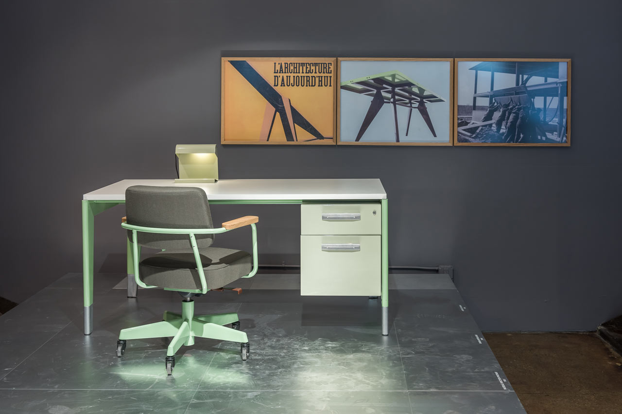 vitra g star raw launch prouv raw office edition design milk
