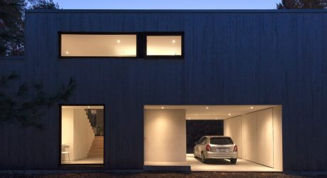 A 90's, Split Level Bungalow Goes Modern