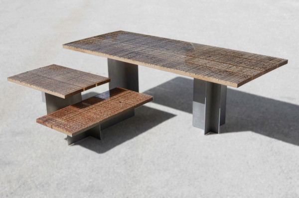 Marble Ways Collection Gives Life to Scrap Wood