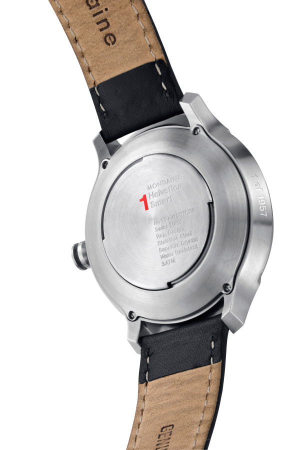 Mondaine Helvetica No1 Smart Watch-back