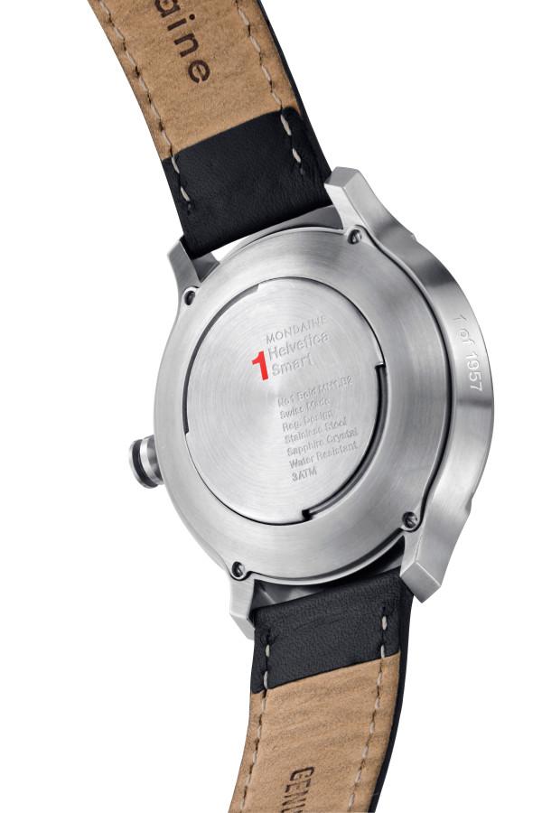 Mondaine Helvetica No1 Smart Watch-back