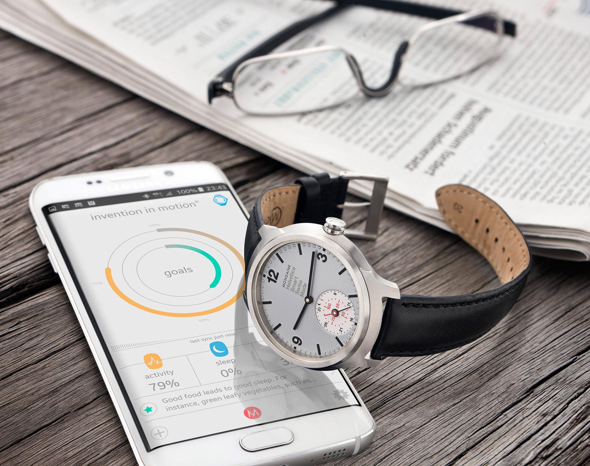 Timely and Intelligent: The Mondaine Helvetica 1 Smart 1957 Special Edition Watch