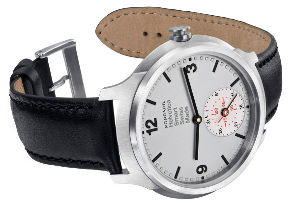 Mondaine Helvetica No1 Smart Watch-sidedown
