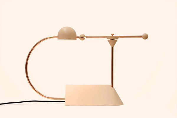 Sculptural Lamps that Transform When Turned On & Off