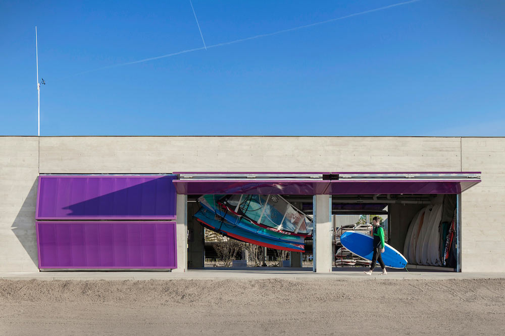 Northwestern Sailing Center by Woodhouse Tinucci Architects
