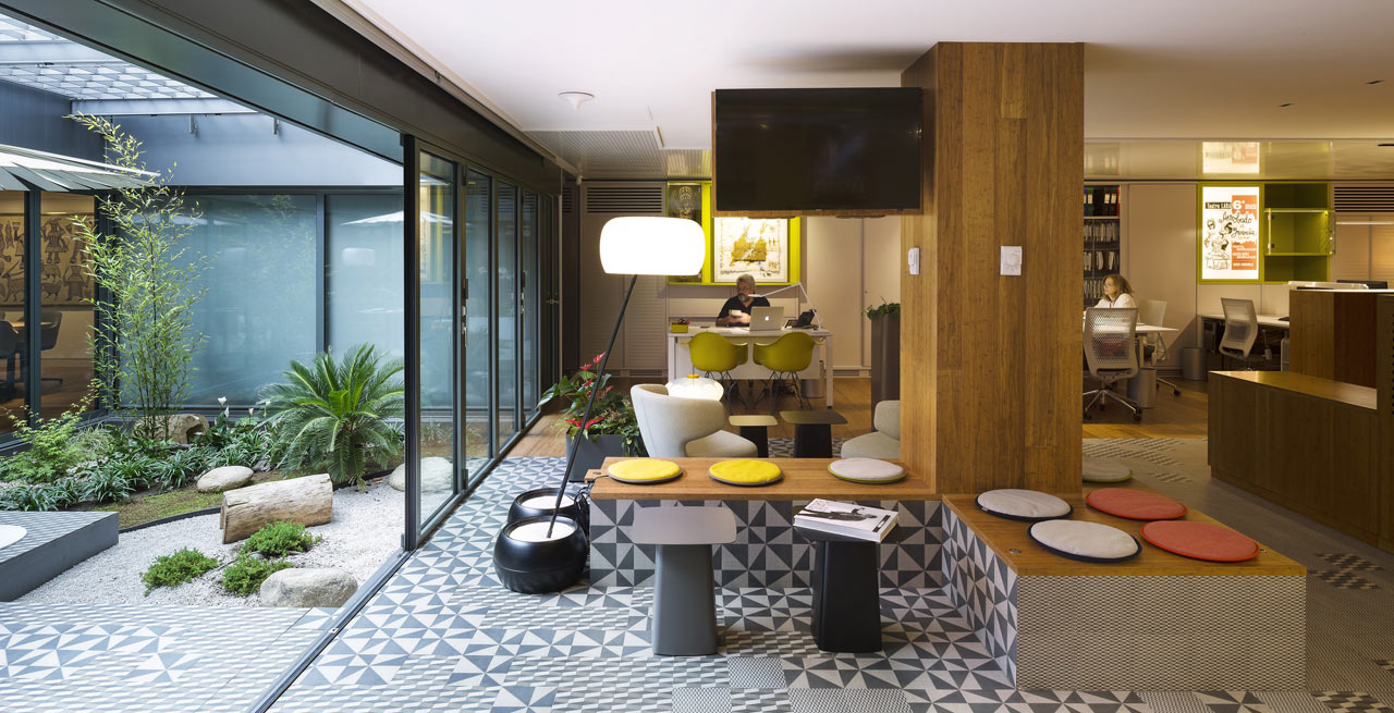A Renovation of a TV Production Company in Madrid