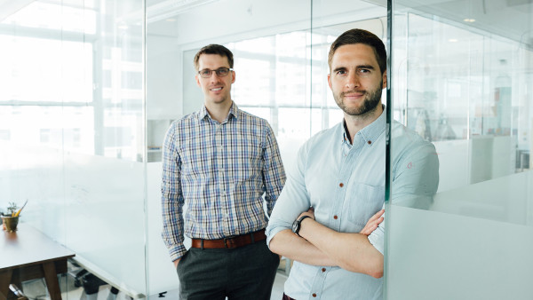 Simon Enever (right) Founder, Product Designer & CEO , Bill May (left) Co-Founder, Design Engineer & COO
