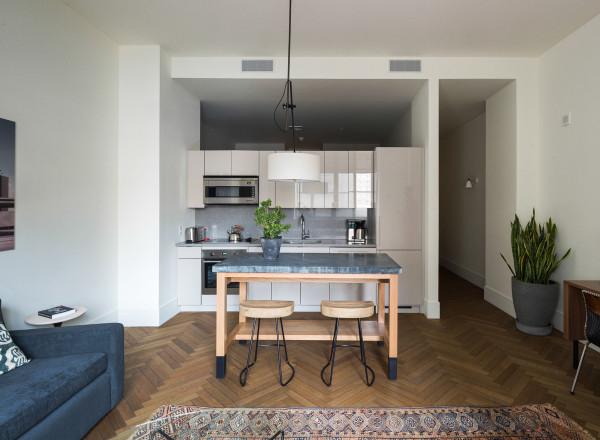 ROOST - apartment kitchen - Matthew Williams