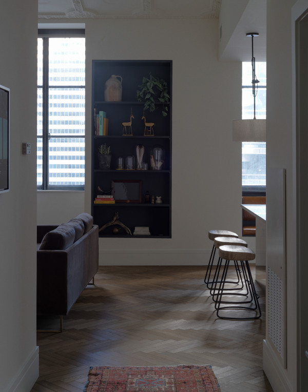 ROOST - penthouse bookshelf - Matthew Williams