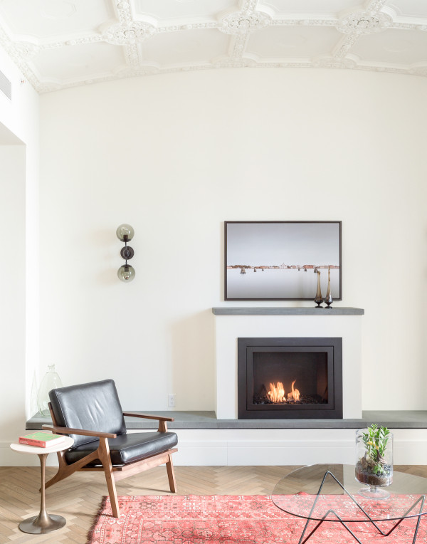 ROOST - penthouse fireplace - Matthew Williams