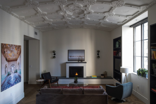 ROOST - penthouse living room - Matthew Williams