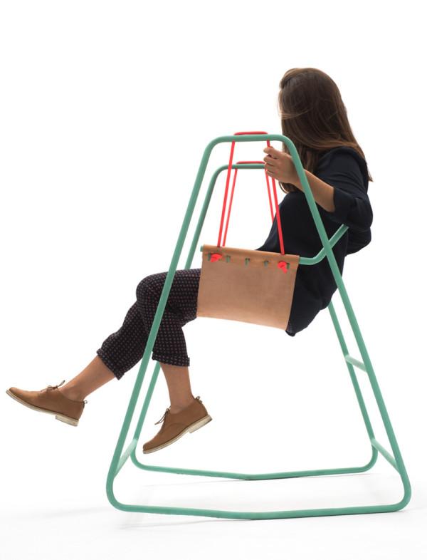 rocking swing chair