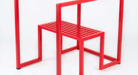 A Stripped Down, Geometric Chair