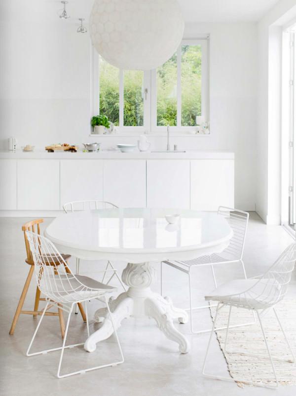 All White Interior Design decorating ideas: 10 all-white rooms - design milk