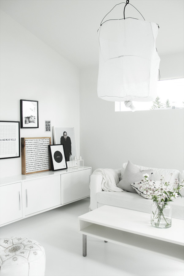 Decorating ideas 10 all white rooms design milk for White bedroom decor