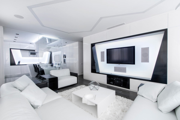All White Room decorating ideas: 10 all-white rooms - design milk