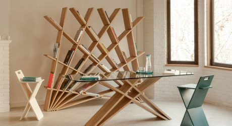 Furniture Collection Inspired by Persian Architectural Patterns