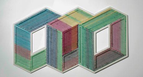 The Geometric Installations of Adrian Esparza