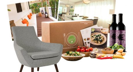 Enter the Wine, Dine & Design Sweepstakes!