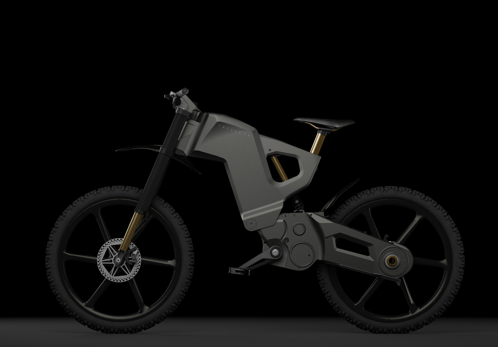 The WiFi, Bluetooth Connected Trefecta DRT e-Bike