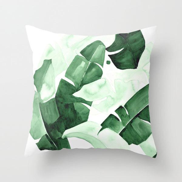 green-plants-outdoor-pillow