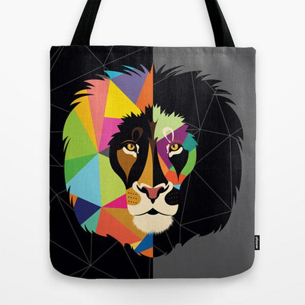 lion-tote-bag