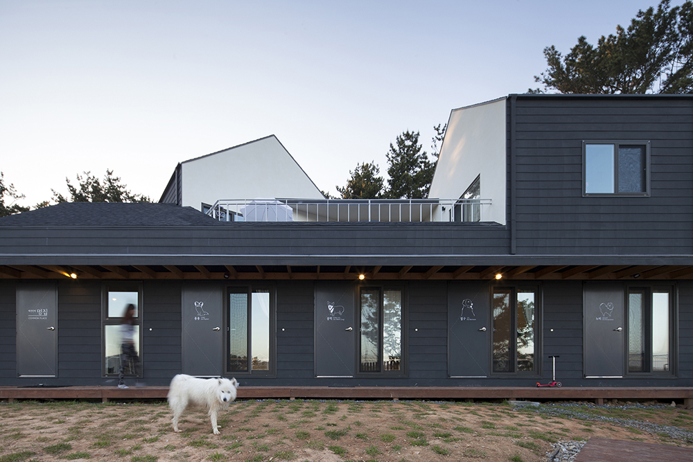 Guesthouse Mungzip by designband YOAP architects