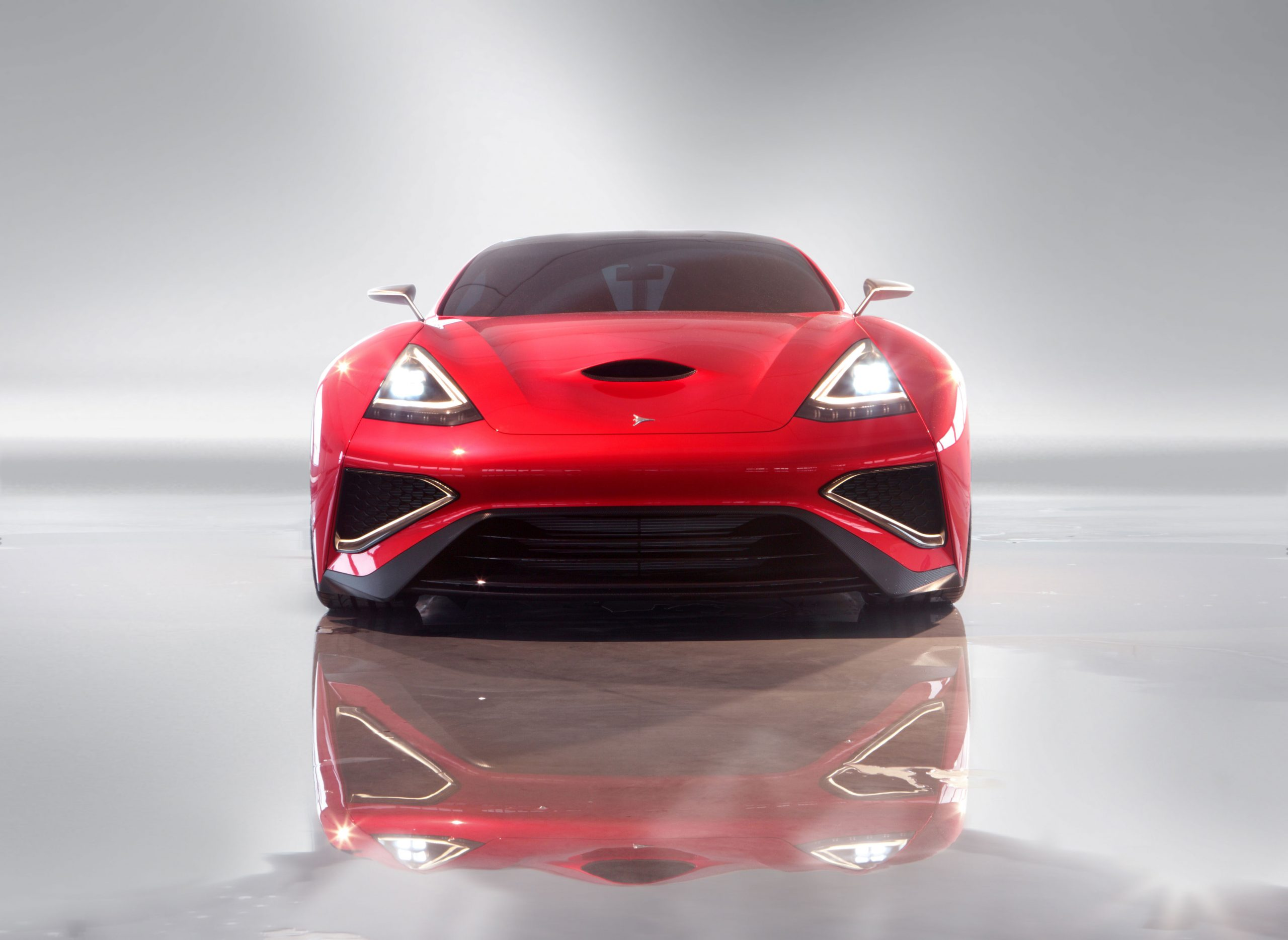 The Icona Vulcano is the World's 1st One-of-a-Kind Titanium Supercar