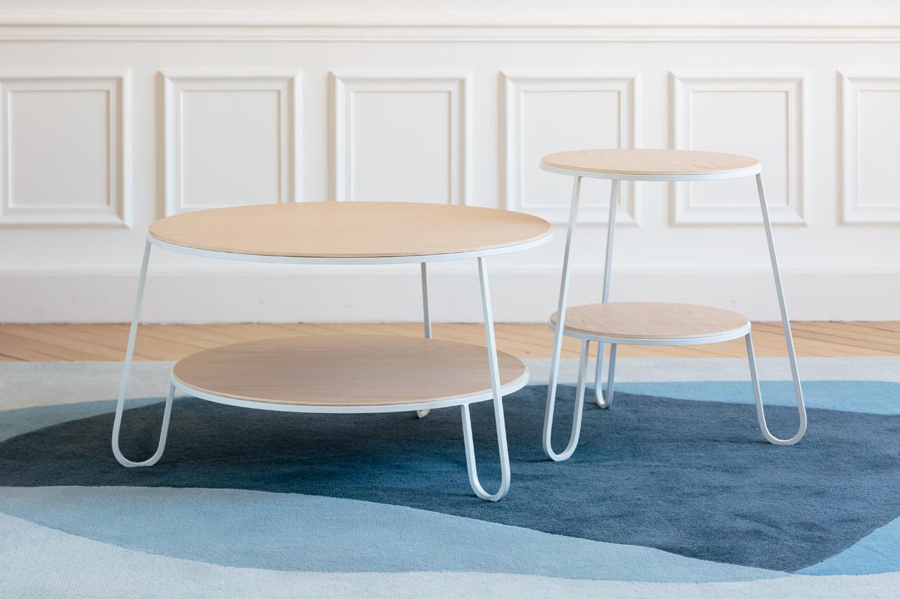 Anatole & Eugénie: A Side Table and a Coffee Table