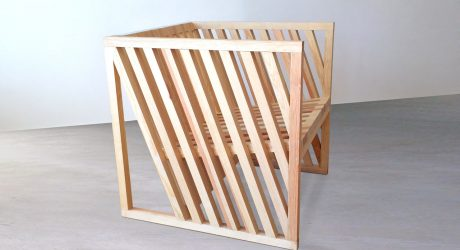 A Chair Born From Exploring the Cube